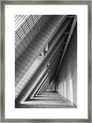 Cultural Centre Hong Kong Framed Print
