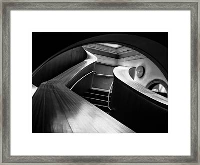 Framed Print featuring the photograph Curves  by Geraldine Gracia