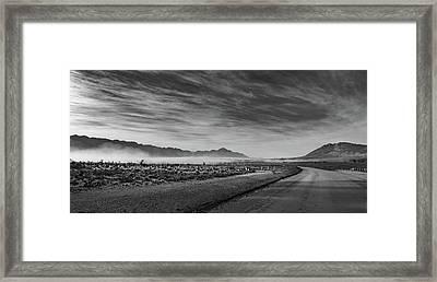 D1101 - Tulbagh Landscape Framed Print