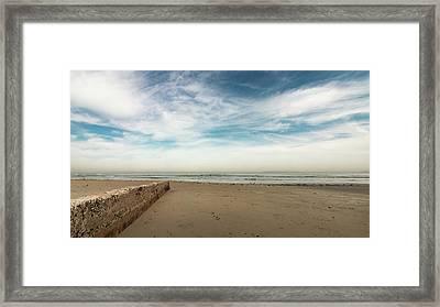 D1373 - Seascape Framed Print
