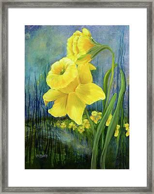 Daffodil Dream Framed Print