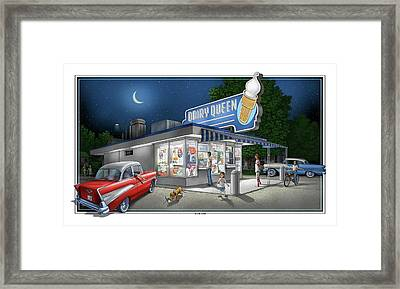 Dairy Queen Framed Print