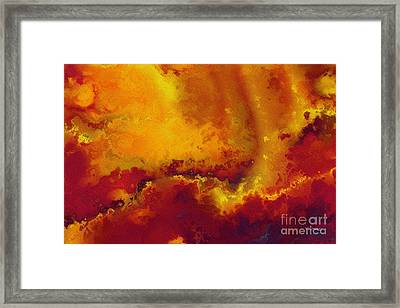 Daniel 6 27. He Delivers And Rescues Framed Print