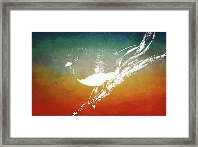 Dark-eyed Junco Framed Print