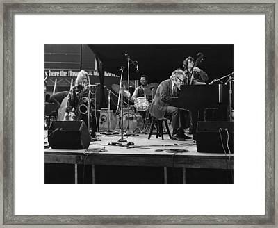 Dave Brubeck Quartet Framed Print by David Redfern