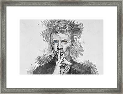 David Bowie. Framed Print