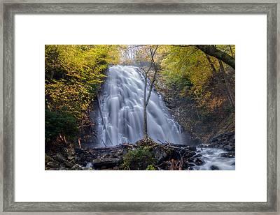 Dawn At Crabtree Falls Framed Print