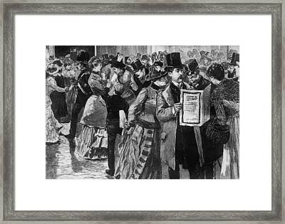 Death Of A Prince Framed Print by Three Lions