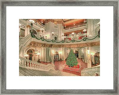 Deck The Hall Framed Print