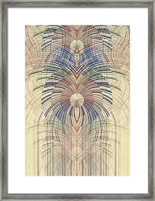 Deco Wood Framed Print