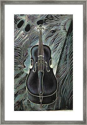 Deep Cello Framed Print