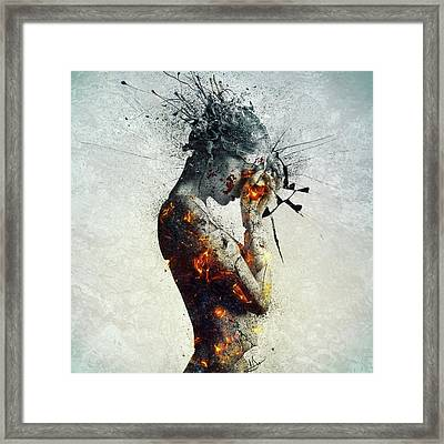 Deliberation Framed Print