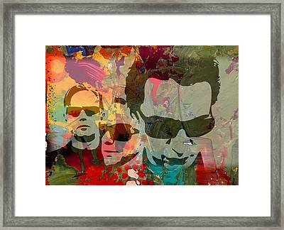 Depeche Mode Framed Print