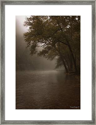 Depth Of Solitude  Framed Print