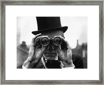 Derby Spectator Framed Print