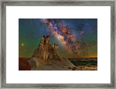 Desert Castle Framed Print