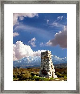 Desert Host Impressions Framed Print