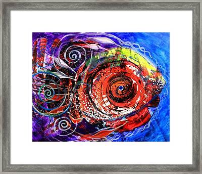 Diabla Grande Framed Print