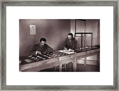 Diamond Office Framed Print by Robert Harris