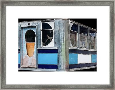 Diner Shapes, Detail 3 - Framed Print