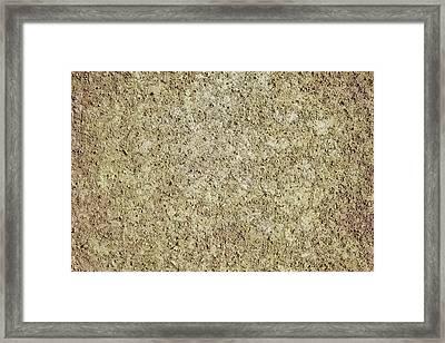 Dirt Background Framed Print by Sbayram