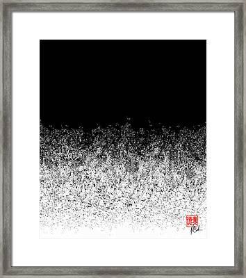 Dissolving Into Light Framed Print
