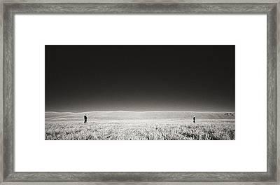 Distance Between Us Framed Print