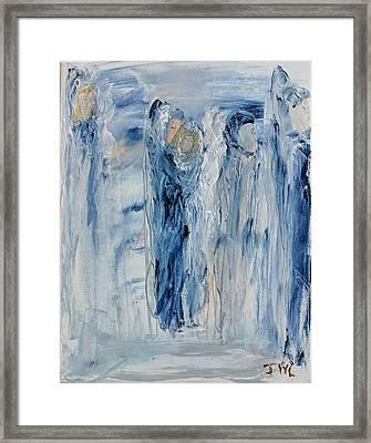 Divine Angels Framed Print