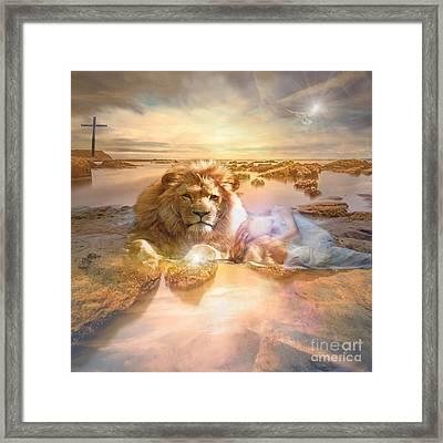 Divine Rest Framed Print
