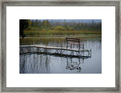 Dock By The Bay Framed Print