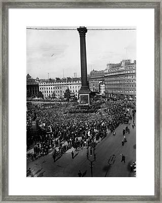 Dock Strikers Framed Print by Topical Press Agency