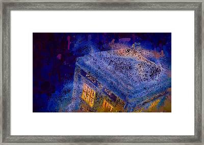 Doctor Who Tardis 2 Framed Print