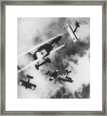 Dogfight Framed Print by Hulton Archive