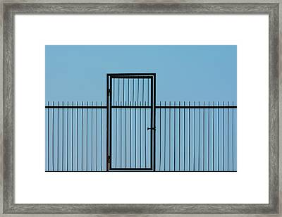 Door To The Sky Framed Print