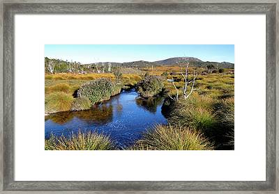Framed Print featuring the photograph Dove River by Nicholas Blackwell