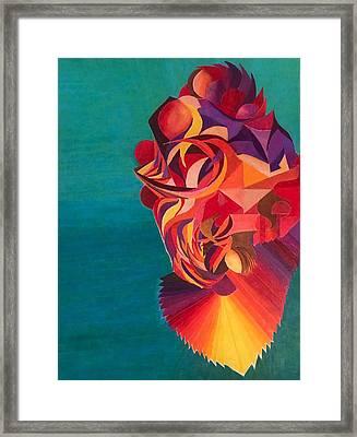 Dragon Koi Framed Print by Jonathan Favors