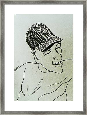 Drawing Framed Print