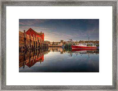 Framed Print featuring the photograph Duality Of Motif No. 1 by Thomas Gaitley