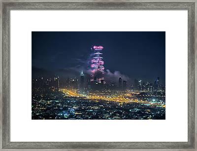 Dubai Framed Print by Harith Samarawickrama