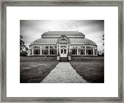 Duke Farms Conservatory Framed Print
