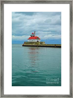 Duluth Lighthouse 2 Framed Print