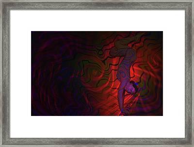 Dynamic Color 3 Framed Print