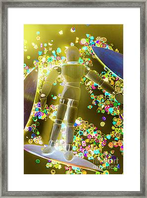 Dynamic Summer Break Framed Print
