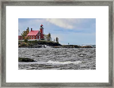Eagle Harbor Lighthouse Framed Print