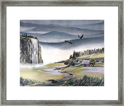 Eagle View Framed Print