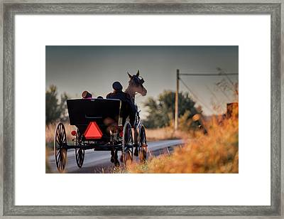 Early Moring Framed Print