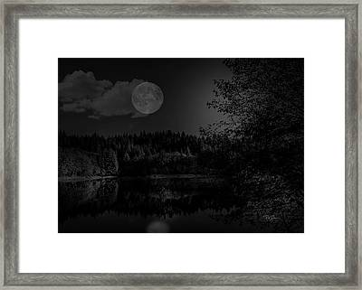 Framed Print featuring the photograph Early Morning On The Lake by Bill Posner