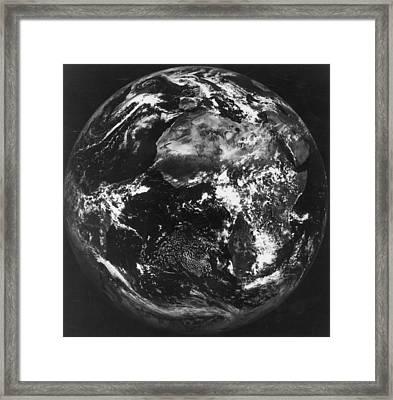 Earth Framed Print by Keystone