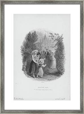 Easter Day Celebration Framed Print by Archive Photos