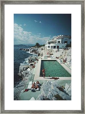 Eden-roc Pool Framed Print